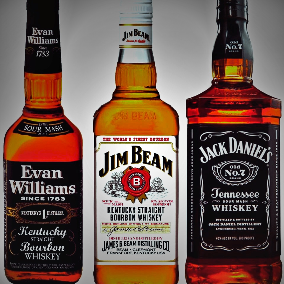 Tasting 3 Jack Daniel S Old No 7 Jim Beam Original Evan Williams Black Label Kctastings